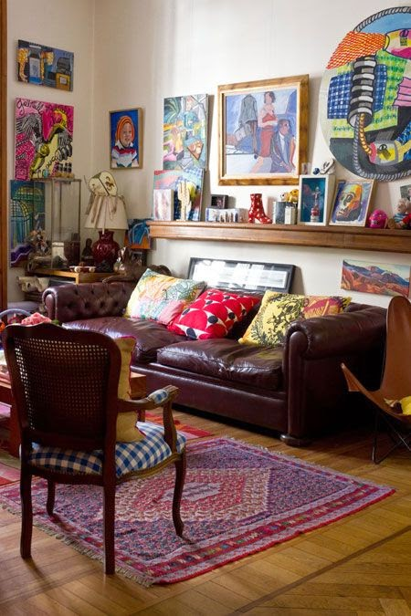 Apartment Living Room: Moon To Moon: Eclectic Sitting Rooms