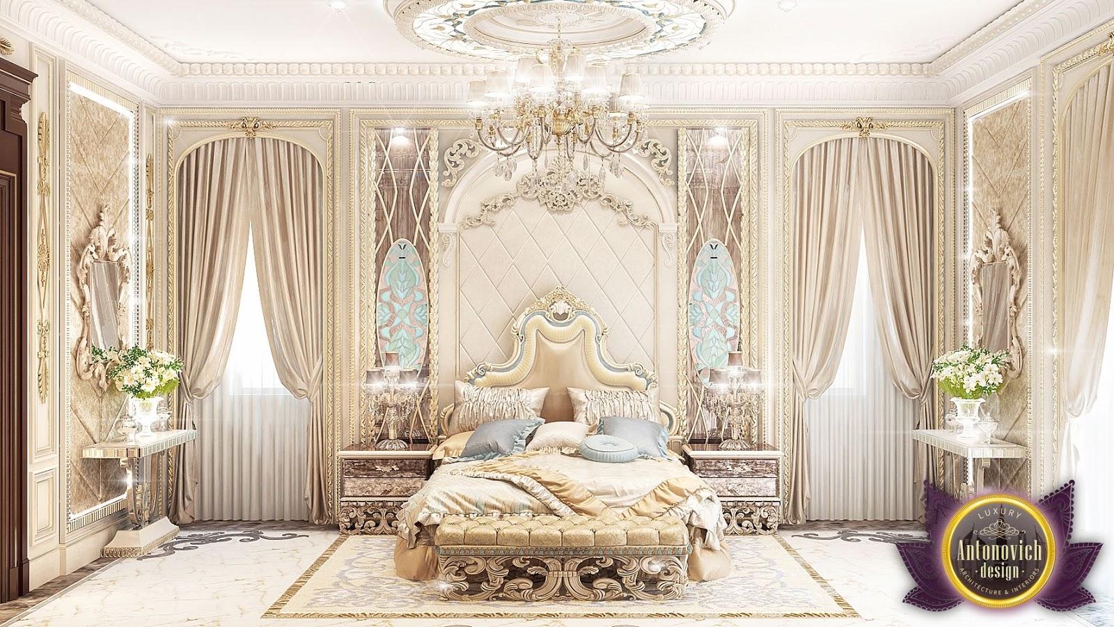 luxury bedroom interior design | nigeiradesign: Luxury Royal Arabic Master Bedroom of ...