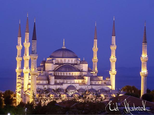 eid mubarak moon wallpaper eid ul fitr