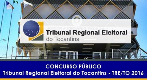 Apostila Concurso TRE TO 2016