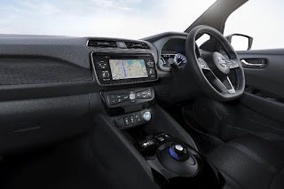 Nissan Leaf (2018) Dashboard