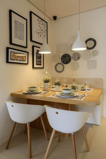 sala-de-jantar-pequena-moderna-com-mesa-encostada-na-parede