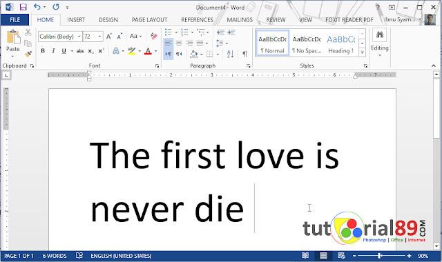 Cara mudah mencari sinonim kata di Microsoft word