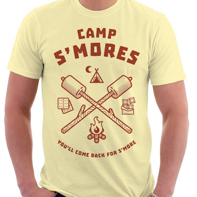 Camp S'mores T-Shirt by Deli Fresh Threads