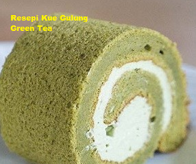 Resepi kek gulung Green tea