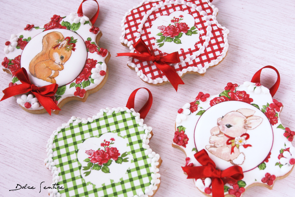 Christmas is coming...Cómo decorar galletas con papel de azúccar {Video Tutorial}