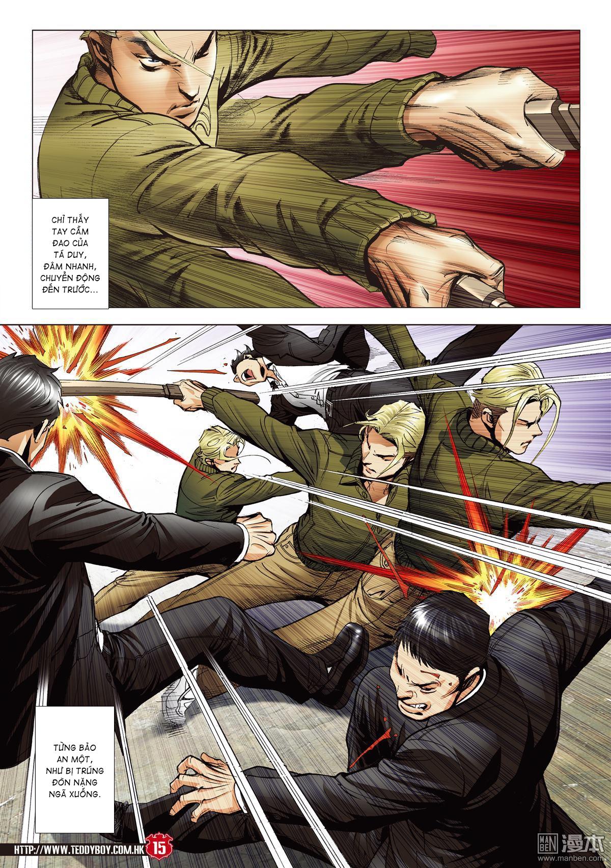 Người Trong Giang Hồ chapter 2067: ánh tỉ làm phản trang 13
