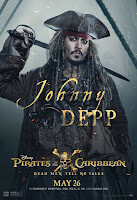 Pirates of the Caribbean Dead Men Tell No Tales Poster Johnny Depp 1