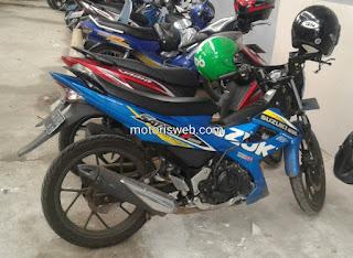 [Foto] Suzuki Satria F150 Seri MotoGP