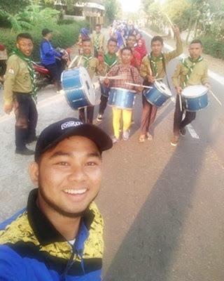 Kegiatan Bakti Sosial Idhul Adha 2017 SMK Muhammadiyah Delanggu (Esmudela) di Lapangan Dukuh