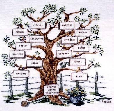 ponto aqui ponto acolá Árvore genealógica 2003