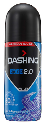 DASHING ADVENTURER 2.0  THE FIRST BREAKTHROUGH INNOVATION IN MALAYSIA -Dashing Deodorant Roll-Ons 40ml EDGE 2.0