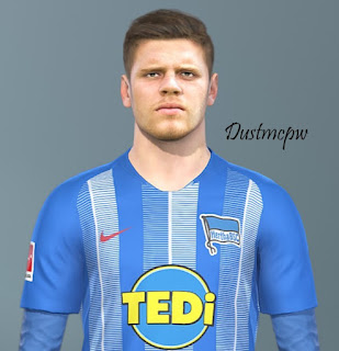 PES 2019 Faces Florian Baak by Dustmcpw
