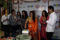 Marath Actrss Urmila Kanitkar Celetes Gudi Padwa in Orange Saree 10.JPG