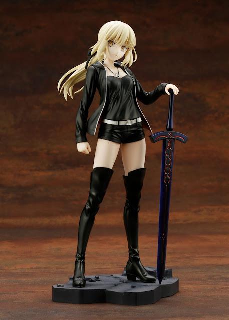 """Figuras: Imágenes y detalles de Saber Alter casual ver. de """"Fate / Grand Order"""" - Kotobukiya"""