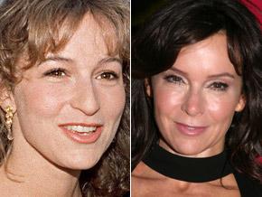 Jennifer Grey antes e depois da plástica (foto:WENN/Agência)