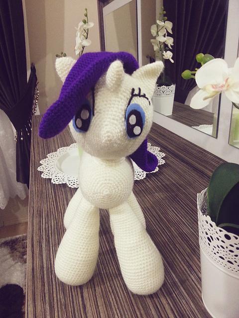 Princess Celestia My Little Pony: Free Crochet Pattern! - AmVaBe ... | 640x480