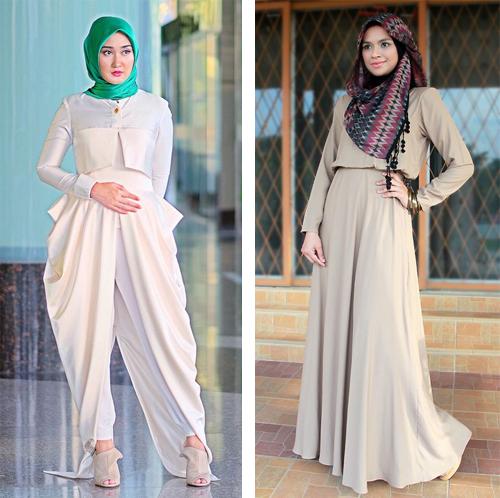contoh model baju hijab
