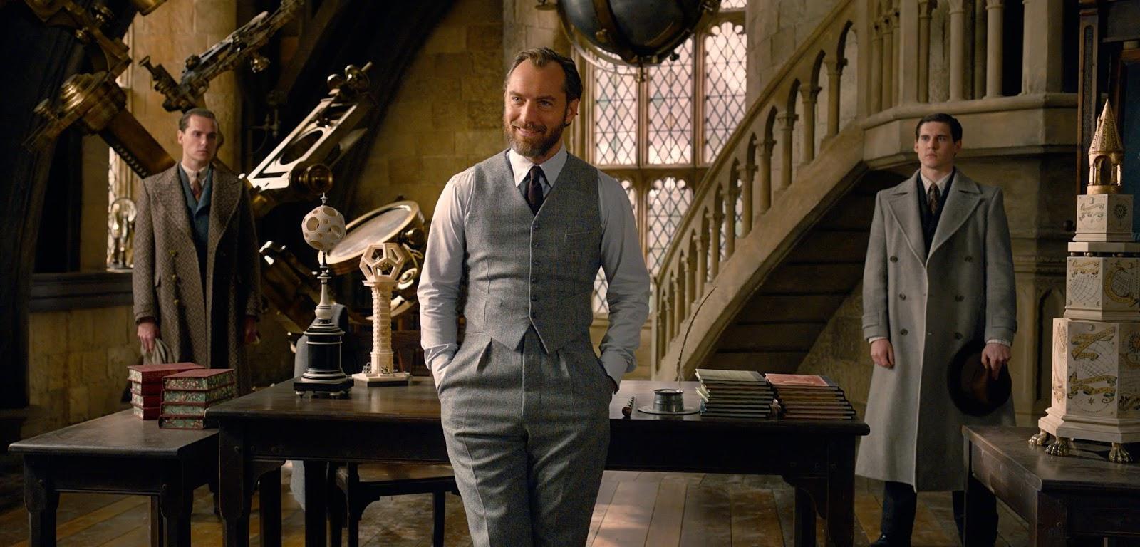 Albus Dumbledore, Jude Law, Fantastyczne zwierzęta, Zbrodnie Grindelwalda