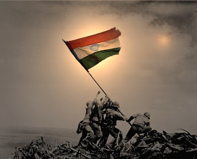 Indian National Flag In India
