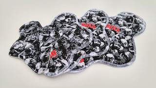 reusable walking dead pads