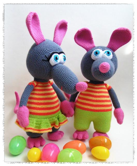 Easter Rats.Munadepühaliselt kirjud Rotid.