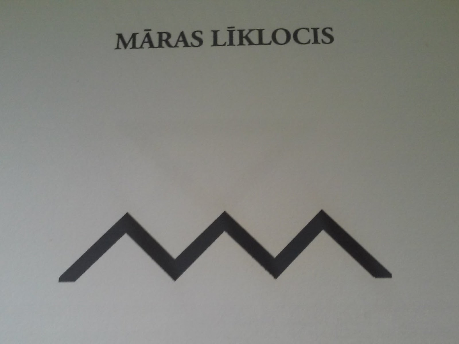 Latvian ethnographic signs anniens mara twists mras lklocis symbolising sea mother and water mother a symbol of life water is life sustainer the sign is symbolic water depict not biocorpaavc