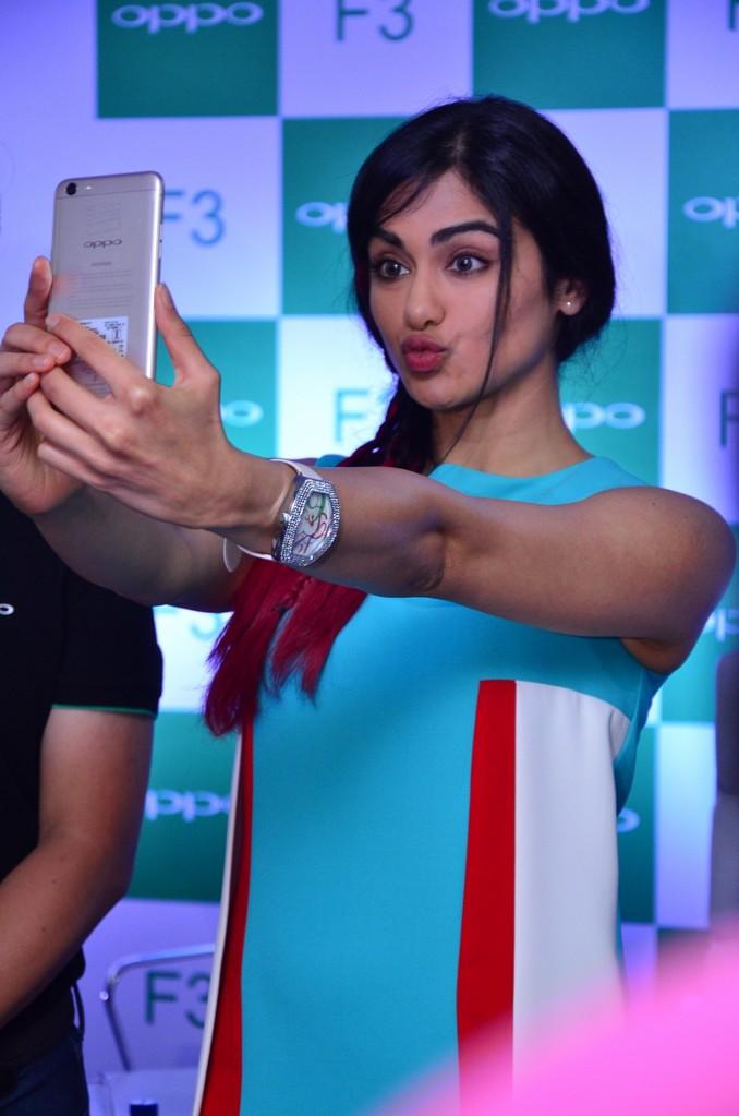Adah Sharma At OPPO F3 Launch Event Stills