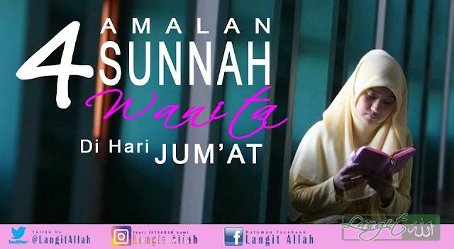 4 Amalan Sunnah Wanita di Hari Jum'at (langitallah.com)
