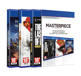 PS4 Tripple Games BOX Masterpiece <price>Rp1.728.000</price> <code>SKU-0009</code>