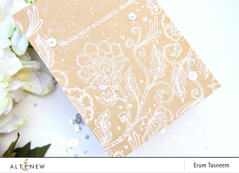 Altenew Needlework Motif Stamp Set | Erum Tasneem | @pr0digy0