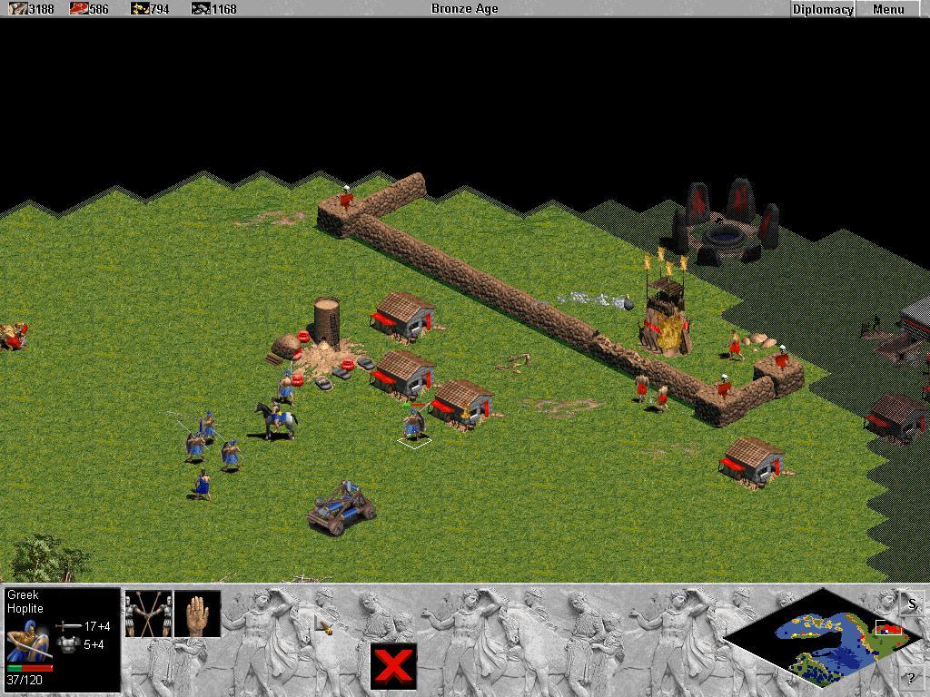 Age of empires / эпоха империй 1 скачать торрент игры бесплатно.