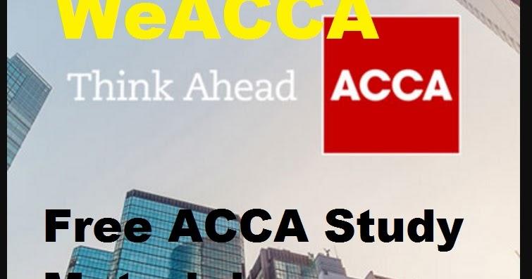 Free bpp acca study text