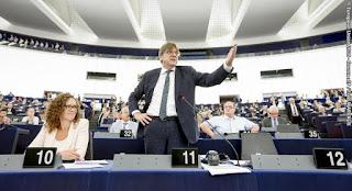 Guy Verhofstadt, debate sobre el estado de la Unión