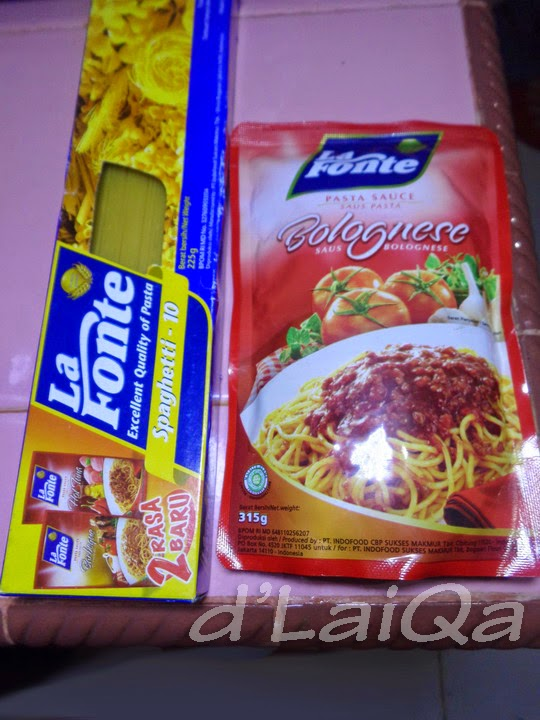 spaghetti dan saus bolognese