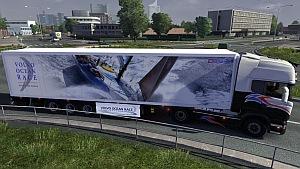 Volvo Ocean Race trailer mod