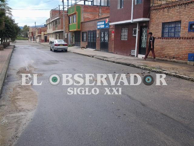 Sin servicio de agua en el B. San Cristobal