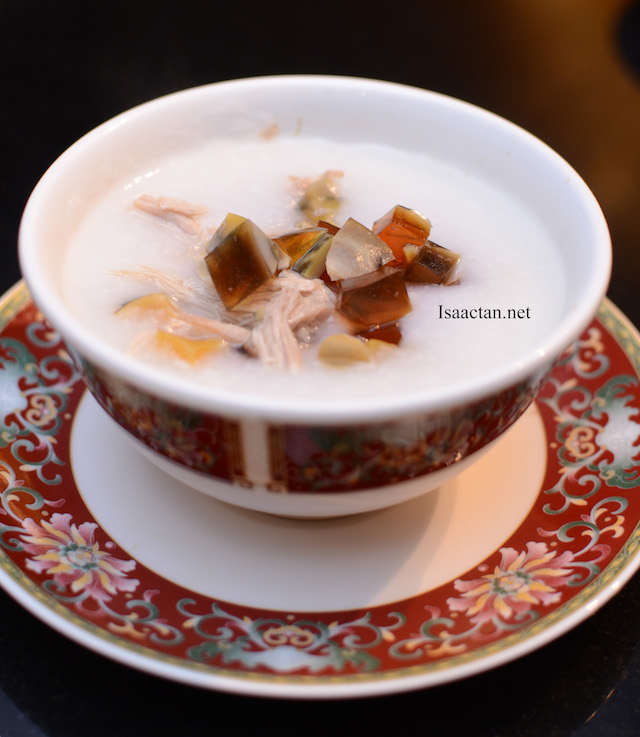 Porridge with Century Egg