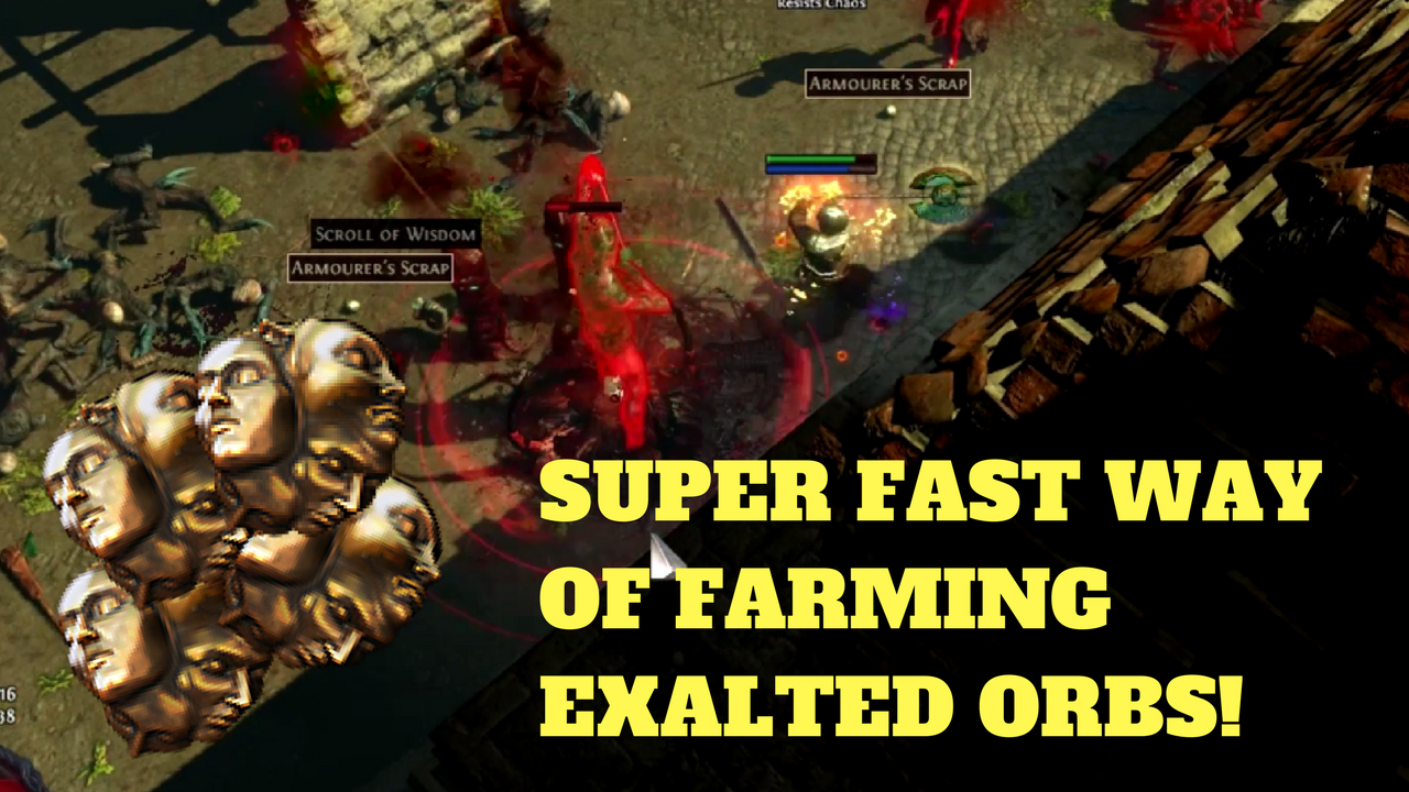 fast way of farming exalted orbs in path of exile 3 0 beyond