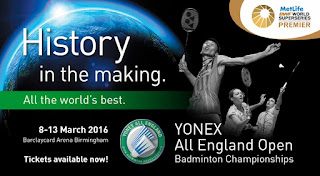 Live Skor Yonex All England Super Series Premier
