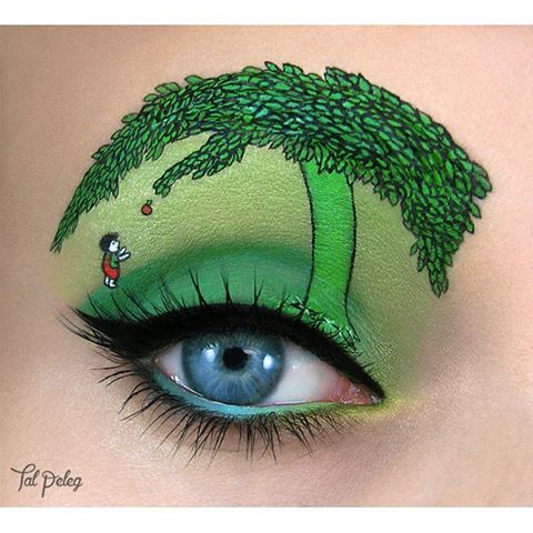 17-The-Giving-Tree-Tal-Peleg-Body-Painting-and-Eye-Make-Up-Art-www-designstack-co