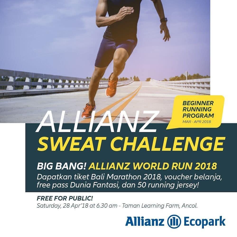 Allianz Sweat Challenge - Big Bang • 2018