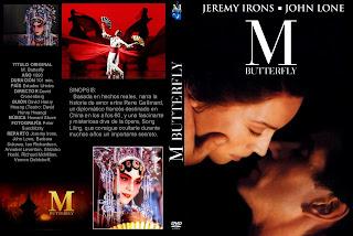 Madame Butterfly (1993) M. Butterfly - Carátula DVD