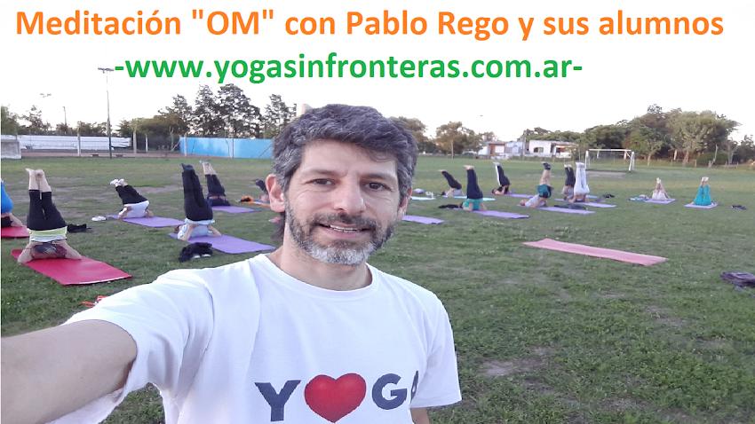 Video: Meditación OM con Pablo Rego y sus Alumnos.