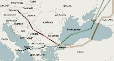 """Росія готова дотягнути """"Турецький потік"""" до країн південної Європи"""
