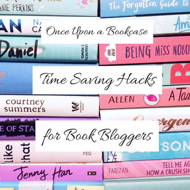Time Saving Hacks for Book Bloggers