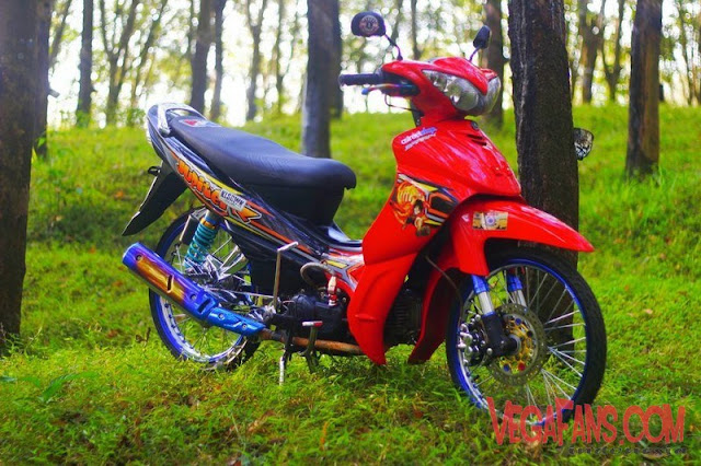 Jupiter Z Merah Thailook Style Simple