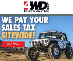 4wheel drive coupon codes 2019
