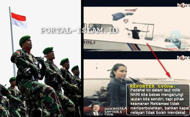 Reklamasi Sudah Seperti Wilayah Sendiri, TNI Diminta Bertindak atas Ancaman Kedaulatan NKRI