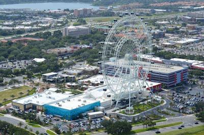 Vista aérea do I-Drive 360